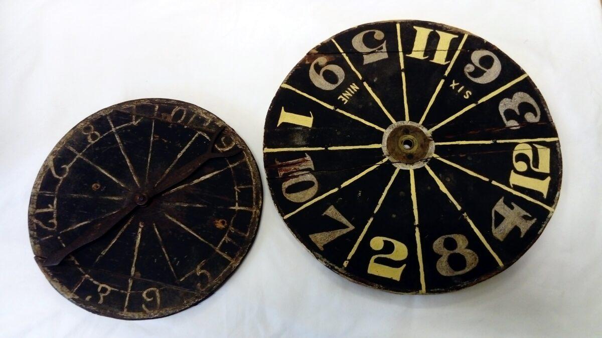Drahndl, Glückszirkel, Tourniquet, Zeiger-Roulette: Glücksspiele mit Drehnadel