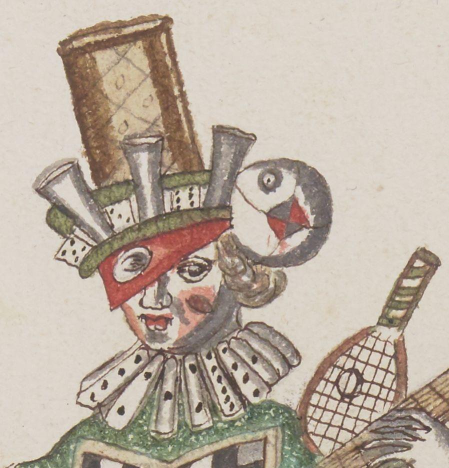 Personifizierte Spielsammlung: Daniel Rabel, Recit du Jeu (1625)