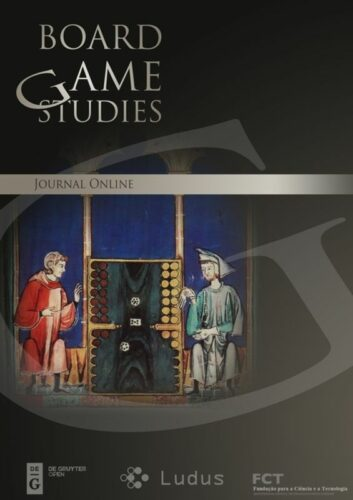 Cover of the Board Game Studies Journal
