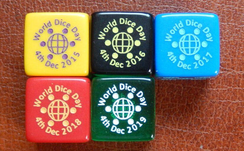 December 4: World Dice Day