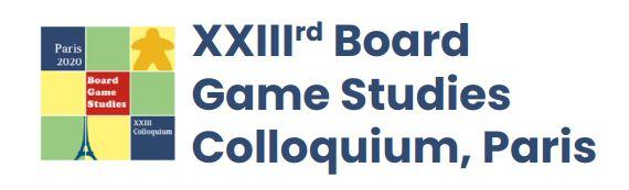 23rd Board Game Studies Colloquium (13.-16. April 2021)